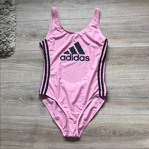Adidas Pink One Piece Swimsuit Size XL